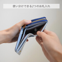 整理整頓/本革/レディース財布/財布/収納/収納グッズ/... ▽  \二つ折り財布はコレに決まり/  …(4枚目)