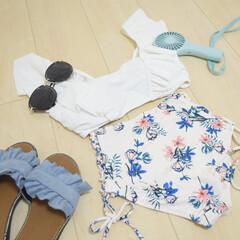 水着/雑貨/ファッション/節約/簡単/おしゃれ 毎日暑過ぎる☀️ ほぼ毎日がプール日和ね…