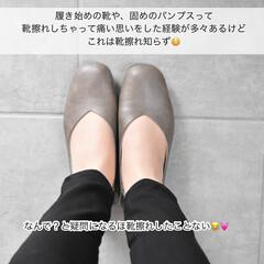 タイアップ/パンプスコーデ/靴/靴下/パンプス/雑貨 ▽  \大人気スクウェアトゥパンプス/ …(3枚目)