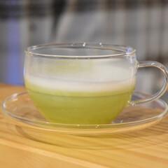 抹茶ラテ/ドルチェグスト/おすすめアイテム/暮らし 至福の1杯☕️♡  ドルチェグストで淹れ…