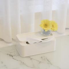 花瓶/生花/ラッキーカラー/インテリア/インテリア雑貨/おしゃれ/... この花瓶、少ない本数の花でも 可愛く飾れ…(1枚目)