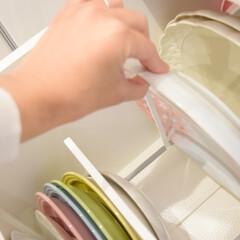 キッチン収納/お皿立て/お皿収納/お皿スタンド/リミとも部/ディッシュラック/... \お気に入りのディッシュラック/  もち…