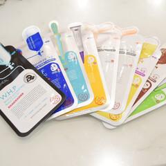 N.M.FアクアアンプルマスクJEX(シートマスク)を使ったクチコミ「最近お風呂上がりに フェイスパックをする…」