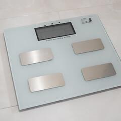 体重計/いいねTop10決定戦/雑貨/ファッション/おすすめアイテム/暮らし/... 体重計が壊れたので 新しく購入しました🙌…