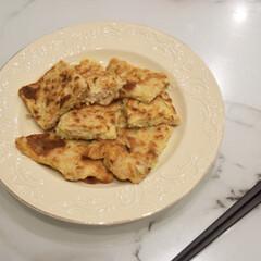 ご飯/お弁当のおかず&便利グッズ/お弁当/おすすめアイテム/暮らし/節約 お好み焼き。  子ども用のお好み焼きは …(1枚目)