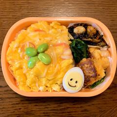 フォロー大歓迎/ひじき煮/天津飯/きのう何食べた?/LIMIAごはんクラブ/お弁当のおかず&便利グッズ/... 今日のおべんと。  ・天津飯風ごはん ・…