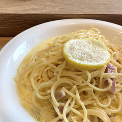 LIMIAごはんクラブ/塩レモン/カルボナーラ/カフェランチ こんにちは🧸☔️ 少しお久しぶりになって…
