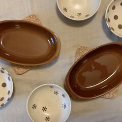 グラタン皿/小鉢/器好き/うつわ/ニトリ 🏥通院の帰りに諸用でニトリへ寄ってきまし…