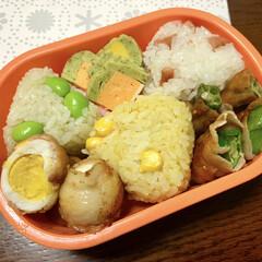 お惣菜/おにぎり弁当/お弁当/暮らし/フォロー大歓迎/LIMIAごはんクラブ おはようございます☺️ 連休終わっちゃい…