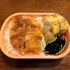 ひじき煮/おうちごはんクラブ/LIMIAごはんクラブ/ダイソー/セリア/お弁当/... 今日のおべんと。  ・お魚フライ ・卵焼…