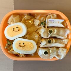 デコ弁/のっけ弁/お弁当/こどもの日/LIMIAごはんクラブ 今日のおべんと。  ・チャプチェ風豚キム…