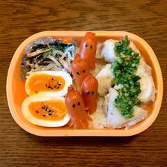 フォロー大歓迎/ゆでたまご/タコさんウインナー/鶏ムネ肉/LIMIAごはんクラブ/お弁当/... 今日のおべんと。  ・ねぎ塩タレチキン …
