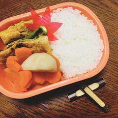 秋弁当/LIMIAごはんクラブ/暮らし/フォロー大歓迎 今日のおべんと。  ・卵焼き ・焼きしし…