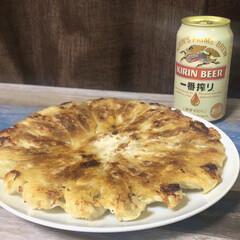 キリンビール 一番搾り 350ml×24本(国産ビール)を使ったクチコミ「【今日のふたりご飯】  今日のふたりご飯…」