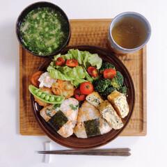 ワンプレートごはん/肉なし料理/ランチ/eminのお昼ご飯/lunch/みんなのお弁当 ⌘本日のお昼ご飯⌘2019.05.09⌘…