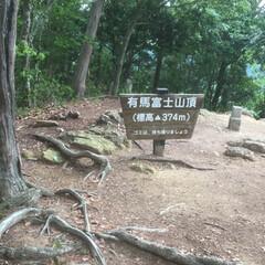 有馬富士/登山/令和元年フォト投稿キャンペーン 標高374メートル。登山家さんからしたら…(1枚目)