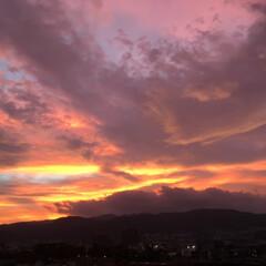 風景/令和元年フォト投稿キャンペーン 絵画のような夕焼け(1枚目)