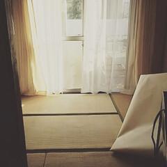 DIY/黒歴史/ビフォー画像/元和室/現状回復/団地/... まずは入居当時の我が家のリビング。 畳に…