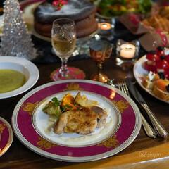 クリスマス記録/おうちクリスマスディナー/おうちクリスマス/おうちごはん/クリスマス料理/クリスマスメニュー/... 今年のおうちクリスマスの記録(12/24…(1枚目)