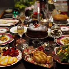 クリスマス記録/おうちクリスマスディナー/おうちクリスマス/おうちごはん/クリスマス料理/クリスマスメニュー/... 今年のおうちクリスマスの記録(12/24…(8枚目)