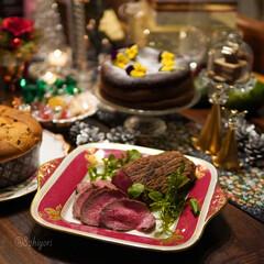 クリスマス記録/おうちクリスマスディナー/おうちクリスマス/おうちごはん/クリスマス料理/クリスマスメニュー/... 今年のおうちクリスマスの記録(12/24…(2枚目)