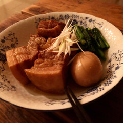 豚の角煮 おうちごはん 炊飯器で豚の角煮