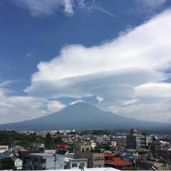 富士登山の思い出/富士登山/富士山山頂/富士山/登山/旅行/... 初の富士山🗻は、最高でした*・゜゚・*:…(7枚目)