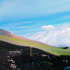 富士山登山/登山/富士山/LIMIAおでかけ部/おでかけワンショット 富士山🗻 初めて登った富士山はやはり感動…(4枚目)