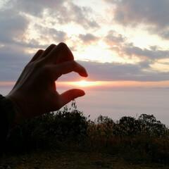 御来光/日の出 今日は霧の海からの御来光🌅 最高でした💖