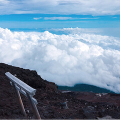 富士登山の思い出/富士登山/富士山山頂/富士山/登山/旅行/... 初の富士山🗻は、最高でした*・゜゚・*:…(5枚目)