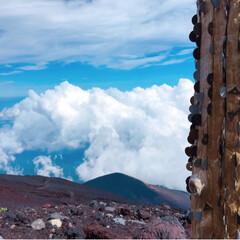 富士登山の思い出/富士登山/富士山山頂/富士山/登山/旅行/... 初の富士山🗻は、最高でした*・゜゚・*:…(4枚目)