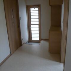 パントリー/勝手口/大きなパントリー/大きな収納のあるパントリー パントリーが広い! 1部屋くらいある。 …