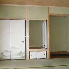 真壁和室/仏間/床の間 真壁和室は仏間・床の間もある本格和室。