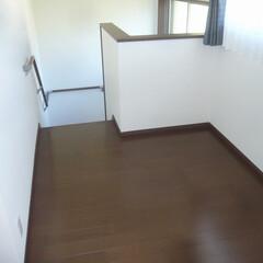 階段ホール/多目的スペース 階段ホールは少し広げて 多目的スペースに。