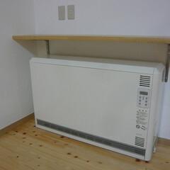 蓄熱暖房機/ユニディール/マイコン蓄熱暖房機/寒い冬もLDK暖か 蓄熱暖房機。 マイコン付のこれがれば広い…