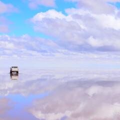 絶景/天空の鏡/ボリビア/ウユニ塩湖/ありがとう平成/平成最後の一枚 ボリビア🇧🇴 ウユニ塩湖  平成最後に行…