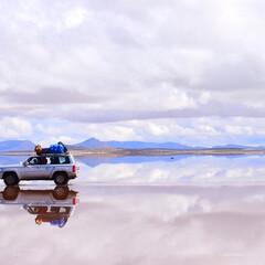 ボリビア/平成最後の一枚/天空の鏡/ありがとう平成 ウユニ塩湖  神秘的な世界