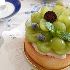 手作りお菓子/手作りおやつ/フルーツ/シフォン/手作りケーキ/ハンドメイド/... 旬のフルーツはやっぱり美味しい エメラル…