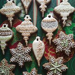 暮らし/手作りクッキー/アイシングクッキー/オーナメント/クリスマス/クリスマス2019/... クリスマスまでの時間を楽しむために オー…