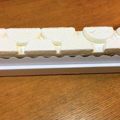 チーズケーキ 私のお誕生日に買って来てくれたチーズケー…