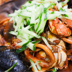 cooking/料理/多国籍料理/お昼ご飯/ランチ/韓国料理/... 大好きな韓国料理🇰🇷! . *ケランチム…(3枚目)