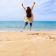 国内旅行/海カフェ/シーサイド/海/海近/糸島/... 先日旅行へ行った際 大好きな海を目の前に…