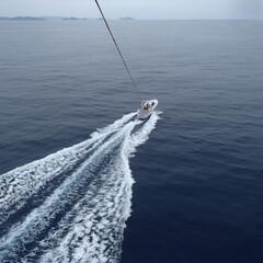 海が見える/アクティビティ/春のフォト投稿キャンペーン/ありがとう平成/はじめてフォト投稿/LIMIAファンクラブ/... 沖縄でパラセーリングーー!
