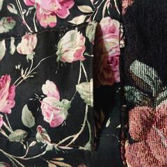 「ゴブラン織り 腰ポーチ 華やかなゴブラン…」(3枚目)