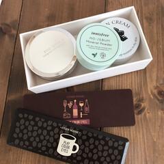 エチュードハウス プレイカラーアイシャドウ インザカフェ(その他アイシャドウ)を使ったクチコミ「ケユカで購入した収納ケースに化粧品をいれ…」