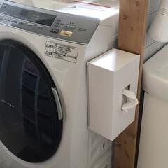 クレーン搬入費半額セール東京23区限定配送条件付きで処分無料パナソニック11kg左開きドラム式洗濯乾燥機 NA-VX9900L-W | パナソニック(洗濯機)を使ったクチコミ「【ペーパータオルホルダー】  キッチンだ…」