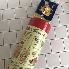 バリラ スパゲッティ No.3 700g 3個(その他麺類、パスタ)を使ったクチコミ「こちらのパスタケースは、海外旅行のお土産…」
