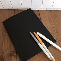 パイロット フリクションカラーズ 12色セット SFC‐120M‐12C(ボールペン)を使ったクチコミ「【手帳カバー】  昨年までほぼ日手帳を使…」