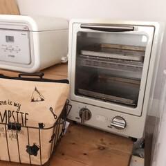 トースター オーブントースター おしゃれ 2枚 縦型 オリジナルレシピ付 コンパクト キッチン家電 プレゼント ラドンナ Toffy トフィ―オーブントースター | Toffy(トースター)を使ったクチコミ「TOFFYのトースター  パンを焼くのは…」