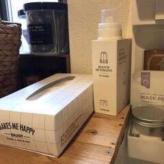 エリップス カプセル型 ≪洗い流さないヘアトリートメント≫ シートタイプ(その他スキンケア、フェイスケア)を使ったクチコミ「洗濯用の漂白剤は、おしゃれなボトルに詰め…」(1枚目)